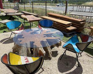 Table Basse Racine Teck TBR0001